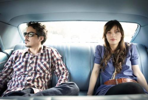 She & Him photo by Sam Jones